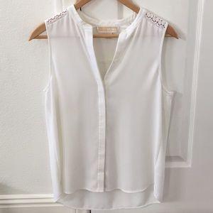 Beautiful white Michael Kors blouse